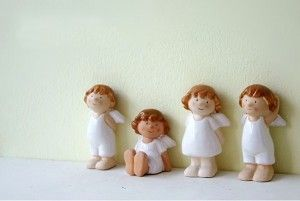 4-Pcs-miniatures-resin-angels-home-font-b-Christmas-b-font-font-b-decoration-