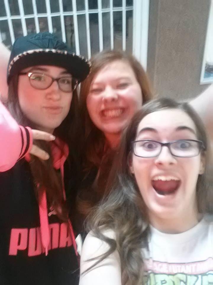 Gab,Gaby et Mélissa