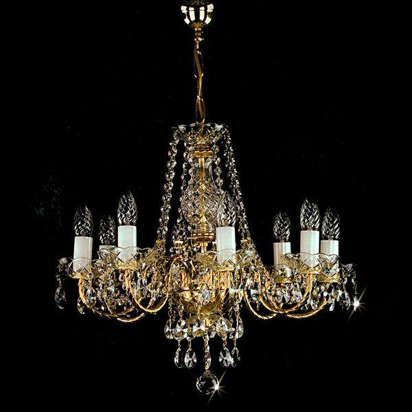 #チェコ ボヘミアンシャンデリア #ブランド #artglass #スワロフスキークリスタル #チェコクリスタル #ゴールド #照明 #ライト #ライティング #リビング #ダイニング #ゴールド #インテリア #ヨーロピアン #ロココ #宮殿