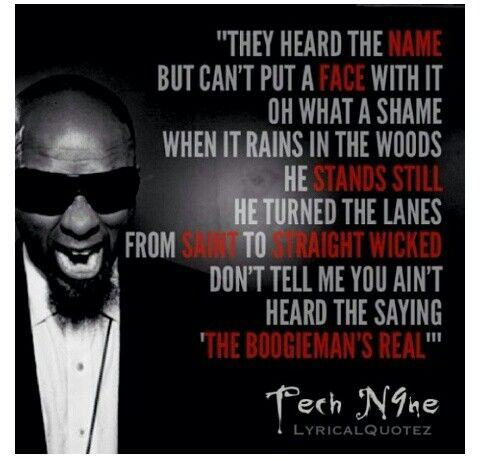 Tech N9ne Lyrics
