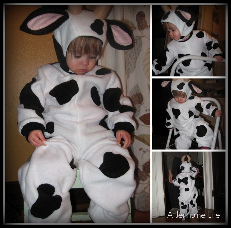 diy cow costume kids - Google Search