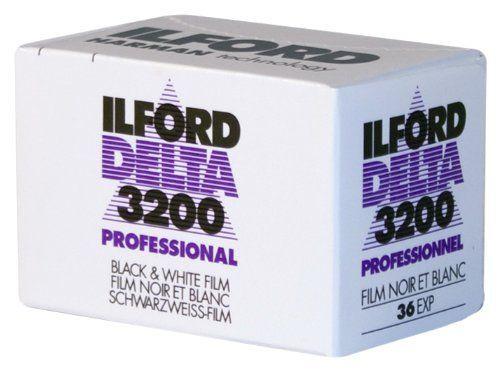 イルフォード イルフォード デルタ 3200 プロフェッショナル 135-36EX イルフォード, 超高感度モノクロフィルム
