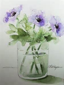 Purple Watercolor Flowers - Bing Images