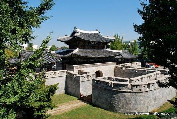 Pungnammun Gate, Jeonju, Korea