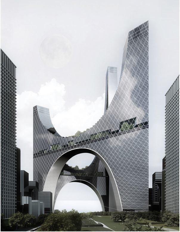 Galeria de Os 20 arranha-céus mais inovadores da eVolo - 8