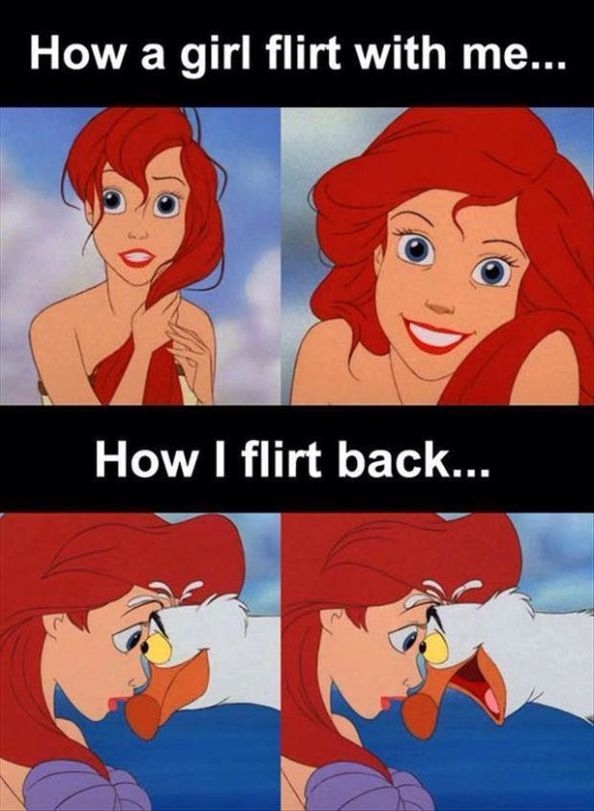 How does flirting work? 30 Funny Pictures