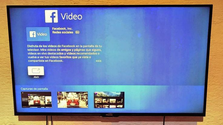 "Facebook Video: intensifies its battle with YouTube for the fourth gener...  Facebook Video: intensifies its battle with YouTube for the fourth generation Apple TV.  Facebook enters directly to compete with YouTube betting with the video when launching its application ""Facebook Video"" in the smart televisions of Samsung...  #facebookvideo #Abantech #videomarketing #Facebook #videoleadshq #RETWEET #socialmedia #video #youtube #FacebookLive #wrapparty #webvideo"