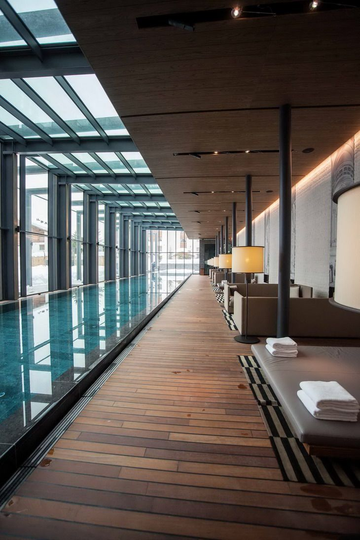 The Chedi Andermatt by Denniston Architects | Pool ...