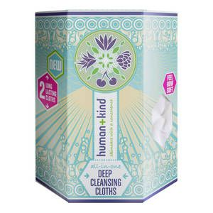 Deep CleansingCloths - Salviette per pulizia profonda di Human+Kind su Sephora.it