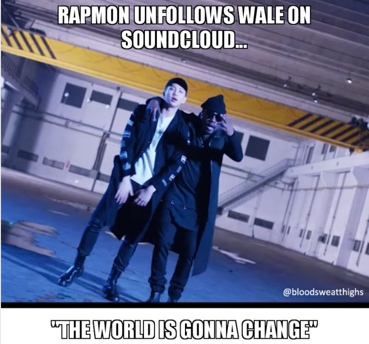 #rapmon #rapmonster #namjoon #godofdestruction #wale #change #unfollow #soundcloud #bts #bangtan #bangtanboys #meme #memes #btsmemes #bangtanmemes #worldisgonnachange #collaboration