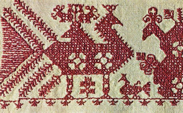 The Textile Blog: Finnish Embroidery