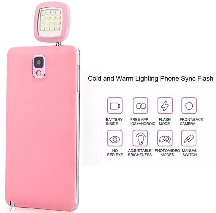 Mini-LED Selfie Light