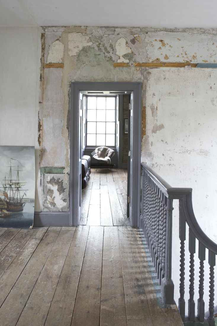Film Location House-Queene Anne House, Faded interior, semi derelict, faded grandeur locations, shabby chic with grand piano in Greenwich