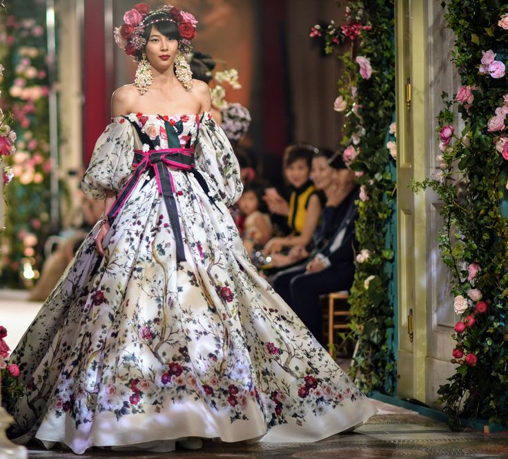 A Blossoming Relationship: Dolce & Gabbana Takes Alta Moda to Tokyo