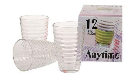 ANYTIME Drikkeglass