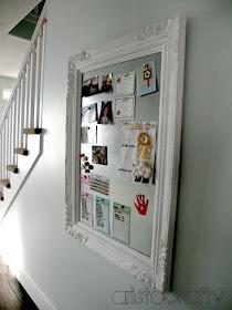 diy decorative magnet board | aristocrafty