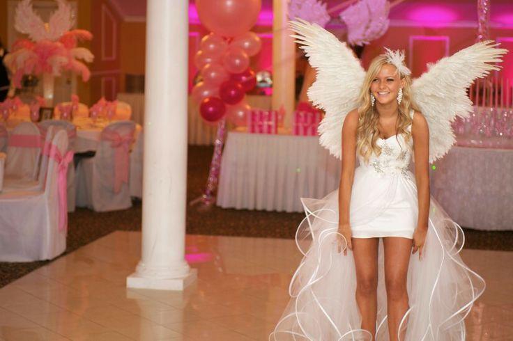 Victoria's secret theme sweet 16.. Dress like this.
