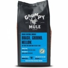 GRUMPY kawa mielona BRAZIL 227g sklep ze zdrową żywnością, bio żywność, zdrowa żywność, biotojestto.pl