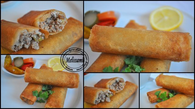 Minced Meat Bouraks – In the Tefal Actifry --
