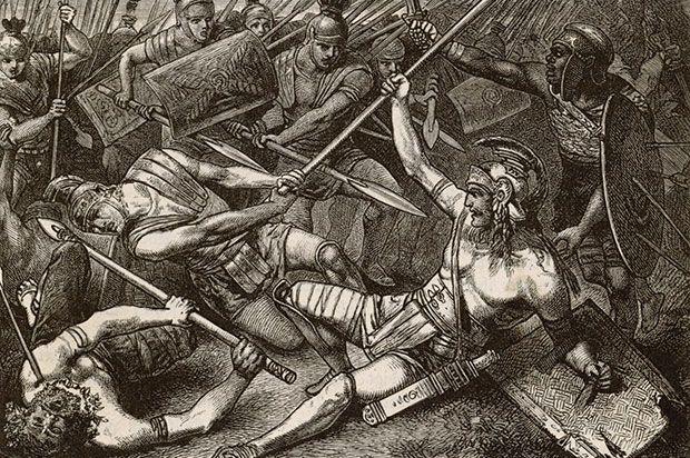 Battle Between: Hellenic League and Achaemenid Empire Hellenic's Leader: Alexander the Great, Hephaestion, Craterus, Parmenion,Ptolemy, Perdiccas, Antigonus, Cleitus, Nearchus, Seleucus, Ariston, Simmias of Macedon Achaemenid's Leader: Darius III, Bessus, Mazaeus, Orontes II, Atropates Date: October 1, 331 BC Victory: Greek Victory Location: Tel Gomel near Mosul Top 14 Decisive Ancient Battles in the History