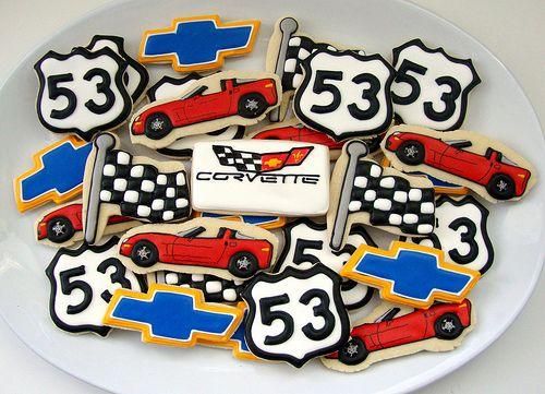 Chris's Corvette Platter