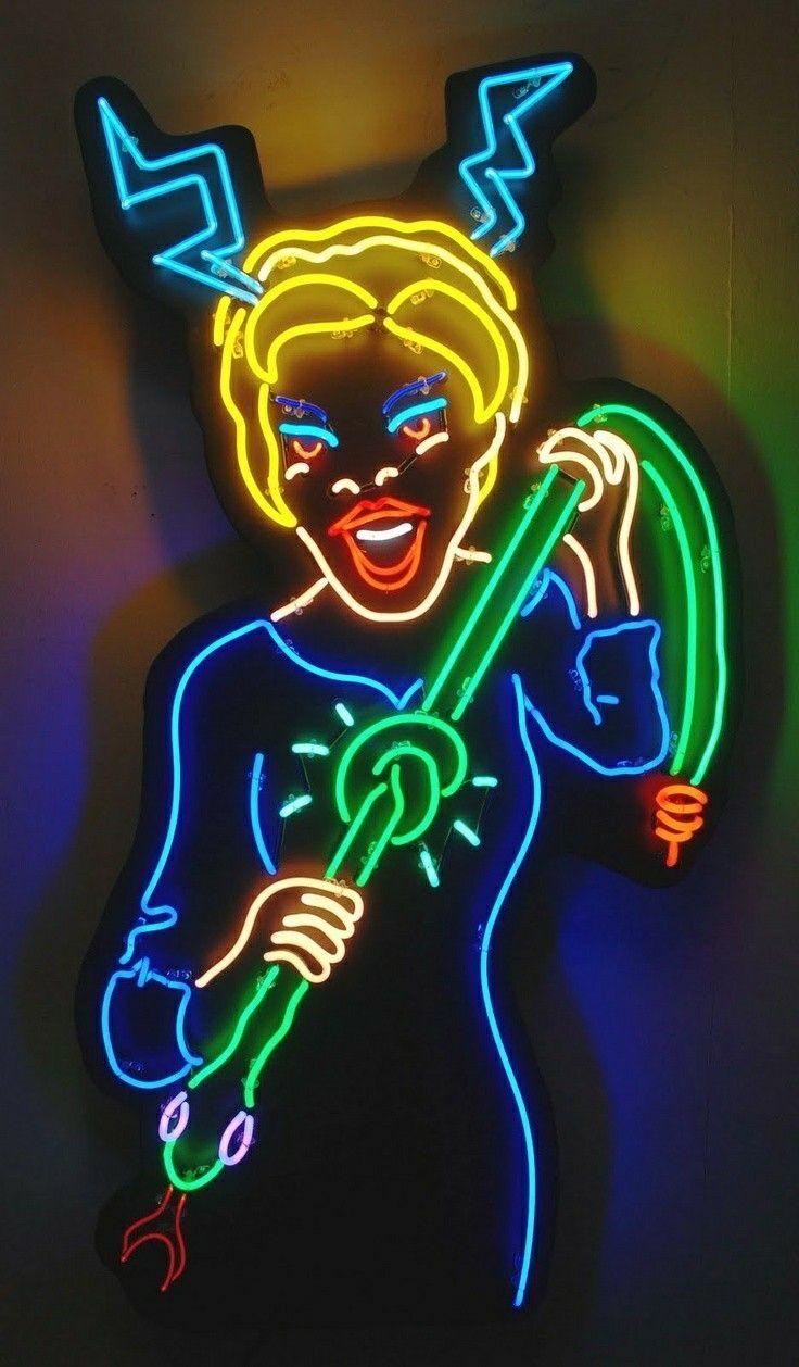 P I N T E R E S T @patriciaperusko Neon noir, Neon art, Neon