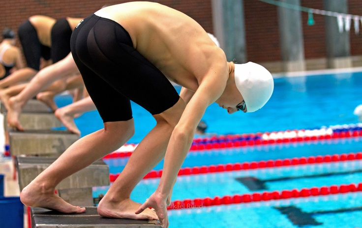 First time 1500 meter freestyle start. Time: 17.27 min.