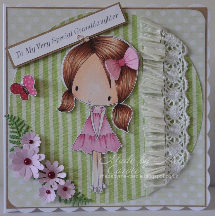 A crad I made using a fab image from All Dressed Up, more details @ http://madebyme-carole.blogspot.co.uk/