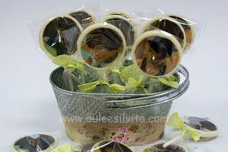 Dulce Silvita: Piruletas de Chocolate y Galletas para Comunión