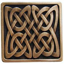 Celtic Isles Cabinet Knob in Antique Copper from Notting Hill Decorative Hardware