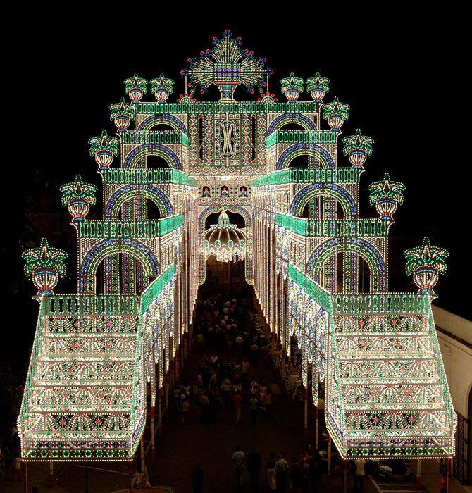 9 migliori immagini feste patronali eventi religiosi su for Luminarie puglia