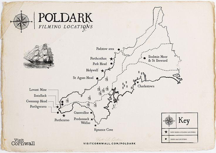 Poldark filming locations in Cornwall