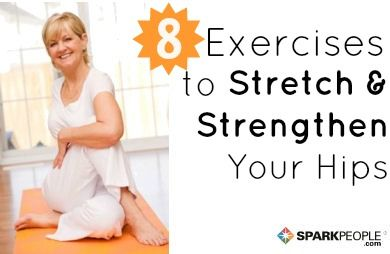 8 Stretches and Exercises for Healthy Hips