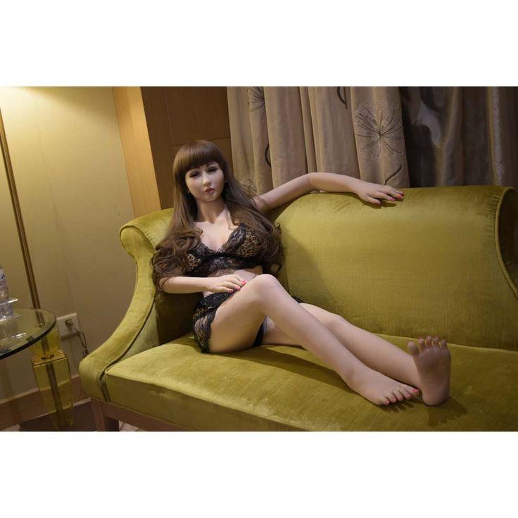 160cm Sex Doll Fully Solid Body Silicone Love Doll Male Masturbator Soul Mate