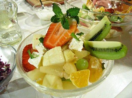 Ovocný salát z banány