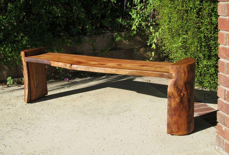 Log Bench My Project Inspiration Pinterest