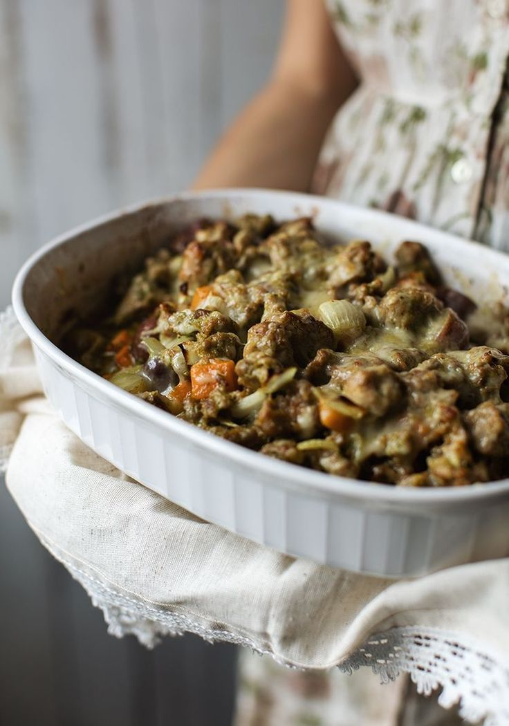 Casserole de chair de saucisses & de courge - Recette - Trois fois par jour