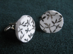 """Unique wedding jewelry designed from """"Silver Lace"""" Queen Anne Bone China from England.  I also design custom wedding jewelry, from my china or yours.  Also sea glass wedding jewelry can be custom ordered."""