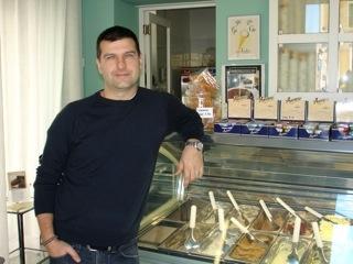 Stand 6 (Marche) - Antonio Luzi (Makì) - Fano (PU) - gusti: malto d'orzo e visciola di Cantiano #gelatofest4