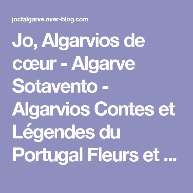 Jo, Algarvios de cœur - Algarve Sotavento - Algarvios Contes et Légendes du Portugal Fleurs et Plantes Médicinales Radioamateur au Portugal Diverses régions du Portugal Recettes Portugaises à ma façon