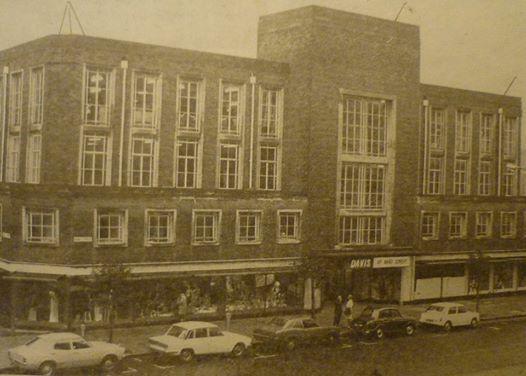 Edwin Davis Store, Bond Street, Hull 1974.
