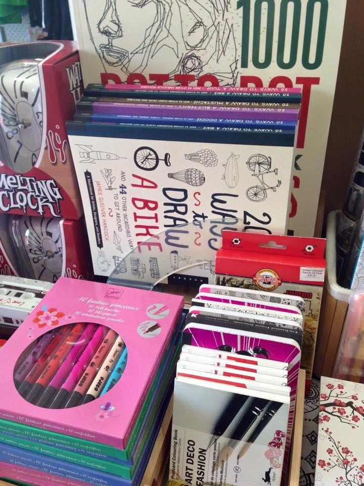 20 ways to draw, Djeco felt Brushes, Pepin colouring