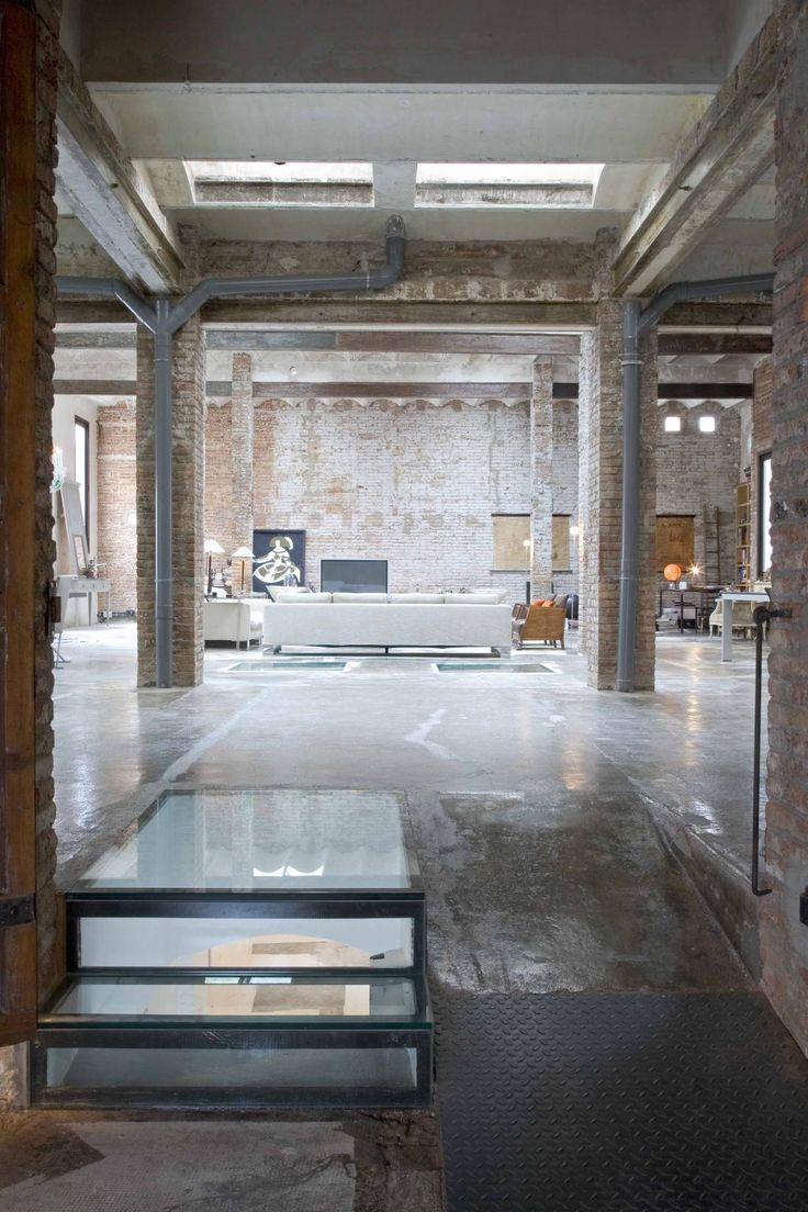Loft industrial en el centro de barcelona vilablanch - Estudio de arquitectura barcelona ...
