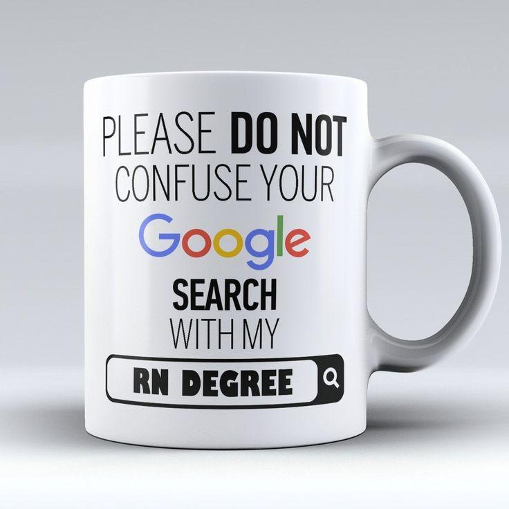 """Limited Edition - """"My RN Degree"""" 11oz Mug"""