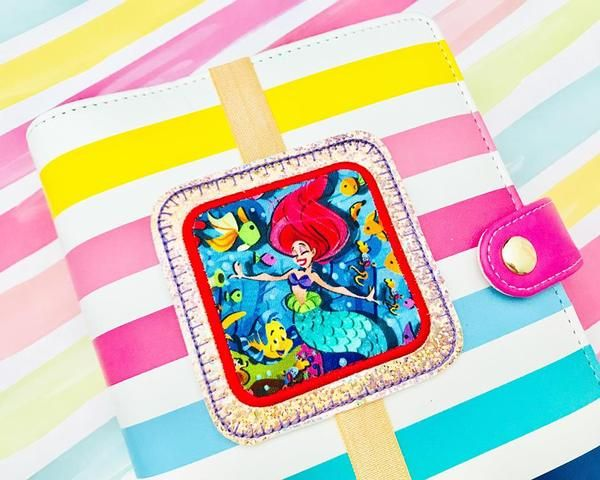 Fancy square applique planner band brother embroidery and sewing