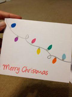 Super easy DIY Christmas Card