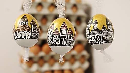 maramanufaktura / Slepačie vajíčko /zlatá ulička