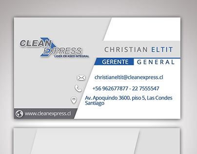 "Check out new work on my @Behance portfolio: ""Tarjetas CleanExpress"" http://be.net/gallery/63546165/Tarjetas-CleanExpress"