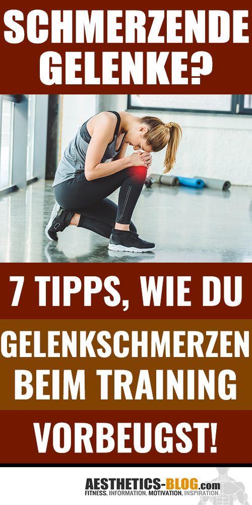 Schmerzende Gelenke Beim Muskeltraining 7 Tipps Zur Vorbeugung