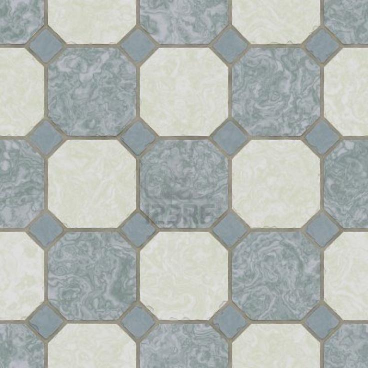 ceramic tile kitchen floor seamless texture stock photo